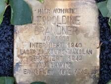 Stolperstein für Leopoldine Brandner, ©Alexander Danner