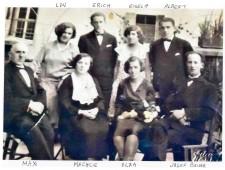 Mechcie, Moses Max, Loni, Erich,  Gisela, Albert Lichtenstein, Elsa Beiser-Lichtenstein, Josef Beiser