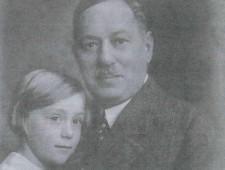 Alois Blühweis und Tochter Helma ca. 1931-32 Foto: Helma Bliss-Goldmark