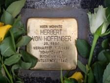 Stolperstein für Herbert von Hoffinger, ©Alexander Danner