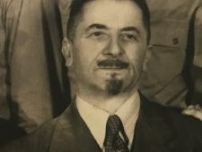 Josef Benedikt, Ausschnitt aus einem Familienfoto, ca. 1940er Jahre, nach der Flucht in die USA