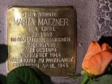 Stolperstein für Maria Matzner  ©Alexander Danner