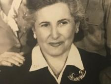 Regina Benedikt, geb. Goldstein, ca. 1940er  Jahre, nach der Flucht in die USA