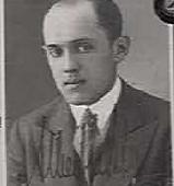 Passbild von Albert Lichtenstein, ca. 1933 (bei der Ausreise nach Palästina)