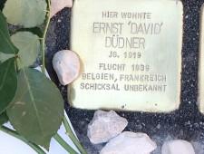 Stolperstein für Ernst Düdner Foto: J.J. Kucek