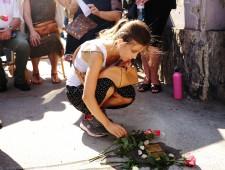 Stolpersteinverlegung im August 2016 für Karoline Boruchowicz und Ruchla Teitelbaum  Foto: J.J. Kucek