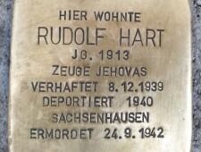 Stolperstein für Rudolf Hart, ©Thomas Meier