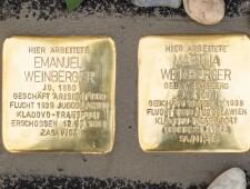 Stolpersteine für Familie Weinberger, ©Alexander Danner