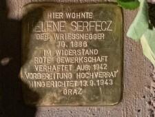 Stolperstein für Helene Serfecz